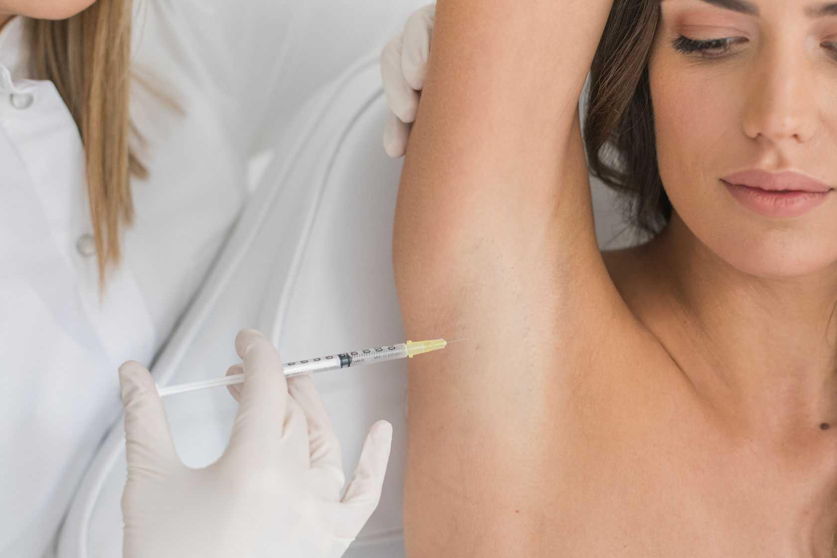 tratament hiperhidroza transpiratia excesiva brasov
